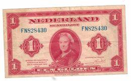 Netherlands 1 Gulden, Used, See Scan. - [2] 1815-… : Koninkrijk Der Verenigde Nederlanden