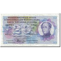 Suisse, 20 Franken, 1972, KM:46t, 1972-01-24, TTB - Suiza