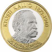 """Finlandia 5€ 2.016 Bimetalica """"Kyösti Kallio"""" SC/UNC  T-DL-12.127 - Finlandía"""