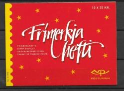 1998  MNH Iceland, Booklet Postfris - Cuadernillos/libretas