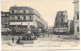 MONTPELLIER - Perspective De La Rue Maguelonne - Montpellier