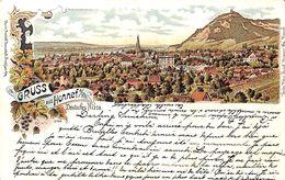 Gruss Aus Honnef (Deusches Nizza, Litho Rosenblatt, 1901) - Bad Honnef