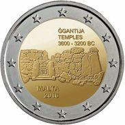 """MALTA 2€ 2.016 Bimetalica """"Templos De Ggantija"""" SC/UNC  T-DL-12.130 - Malta"""