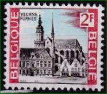Belgien 1969. Mi: 1560** Ansicht Von Veurne ( Furnes) - Eglises Et Cathédrales