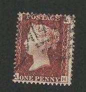Great Britain - 1864 1d Red - GU - Plate # 191 - Scott # 33 - GB 59 - 1840-1901 (Victoria)