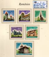 EUROPE:ROMANIA# TOPICS#CASTLES# SET MNH** (EUR-200S-1) (30) - 1948-.... Republics