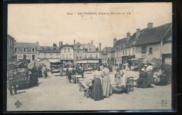 18 -- Vierzon -- Place Du Marche Au Ble - Vierzon
