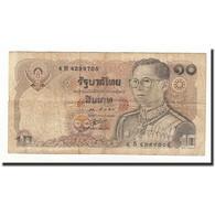Thaïlande, 10 Baht, 1980, KM:87, B - Thaïlande