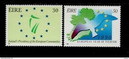 Europa Sympathieausgaben 1990 Ireland 698 - 699 MNH Neuf ** Postfrisch - Emissions Communes