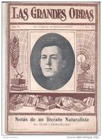 """FASCICULO DE LAS GRANDES OBRAS: """"NOTAS DE UN LITERATO NATURISTA"""" POR ELIAS CASTELNUOVO. AGOTADO RARISIME - Literatuur"""