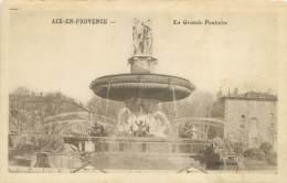 13 - AIX-EN-PROVENCE - La Grande Fontaine - Aix En Provence