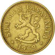 Finlande, 10 Pennia, 1969, SUP, Aluminum-Bronze, KM:46 - Finlande