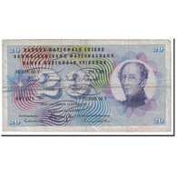 Suisse, 20 Franken, 1969, KM:46q, 1969-01-15, TB - Switzerland