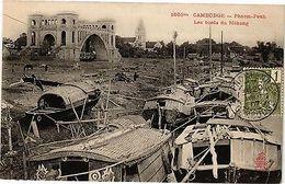 Cambodge Indochina CPA Cambodge-Phnom-Penh - Les Bords Du Mékong (193958) - Cambodia
