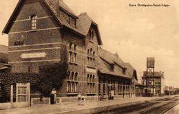 17/8 Dottignies Mouscron  Hainaut  Gare Station Copie - Stations - Zonder Treinen