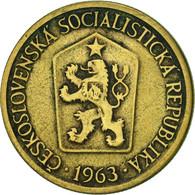Tchécoslovaquie, Koruna, 1963, TTB, Aluminum-Bronze, KM:50 - Czechoslovakia