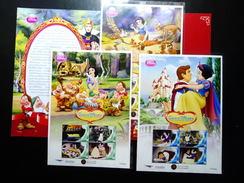 Thailand Personalized Stamp 2013 Walt Disney - Snow White Princess Vol 1 + Pack - Thailand