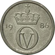 Norvège, Olav V, 10 Öre, 1986, TTB+, Copper-nickel, KM:416 - Norvège