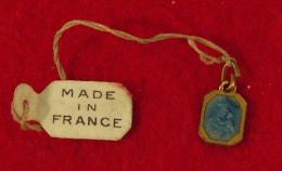 Religion Medaille De France Emaillée, 1.2 X 0.7cm, 1gr - Religion & Esotericism