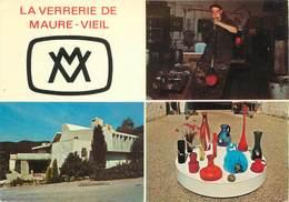 """/ CPSM FRANCE 06 """"Mandelieu, La Verrerie De Maure Vieil"""" - Otros Municipios"""