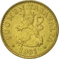 Finlande, 20 Pennia, 1981, SUP, Aluminum-Bronze, KM:47 - Finlande