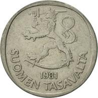 Finlande, Markka, 1981, TTB+, Copper-nickel, KM:49a - Finlande