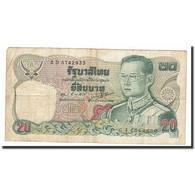 Thaïlande, 20 Baht, 1981, KM:88, B - Thaïlande