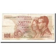 Belgique, 50 Francs, KM:139, 1966-05-16, TB - [ 6] Treasury