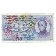 Suisse, 20 Franken, 1971, KM:46s, 1971-02-10, TTB - Suiza