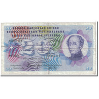 Suisse, 20 Franken, 1970, KM:46r, 1970-01-05, TB+ - Suiza