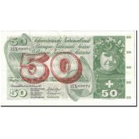 Suisse, 50 Franken, 1971, KM:48k, 1971-02-10, SUP - Switzerland