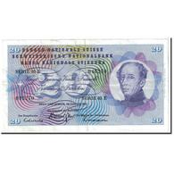 Suisse, 20 Franken, 1972, KM:46s, 1972-01-24, TTB+ - Switzerland