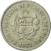 Pérou, 5 Soles, 1977, Lima, TTB, Copper-nickel, KM:267 - Pérou