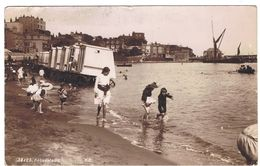 ANGLETERRE  BROADSTAIRS  SUPERBE   ANIMATION DE PLAGE  CABINES   ****  TRES RARE    A  SAISIR ***** - Sonstige