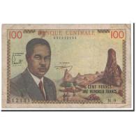 Cameroun, 100 Francs, 1962, KM:10a, TB - Camerun