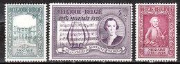 987/89*  Mozart - Série Complète - MH* - LOOK!!!! - Belgique