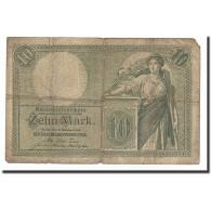 Allemagne, 10 Mark, KM:9a, 1906-10-06, B - [ 2] 1871-1918 : Duitse Rijk