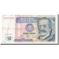 Pérou, 10 Intis, 1987-06-26, KM:129, TB - Perù