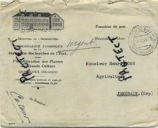 Gembloux : Facture & Enveloppe :    -  2 Scans - Belgique