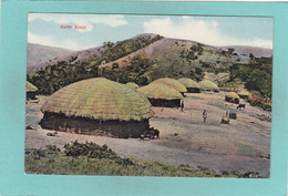Old Postcard Of Kaffir Kraal,South Africa.Y44. - Postcards