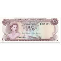 Bahamas, 1/2 Dollar, 1968, 1968, KM:26a, SPL - Bahamas
