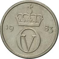 Norvège, Olav V, 10 Öre, 1983, TTB+, Copper-nickel, KM:416 - Norvège