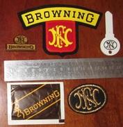 FN Herstal Browning Badges Cutter Sucre - Militaria