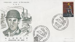 Enveloppes  FDC  1er  Jour   ALGERIE   Hydrocarbures   Energie  Et  Industrie   1968 - Algeria (1962-...)