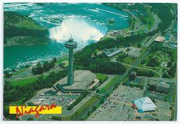 6397 Canada Postcard Nature Water River Waterfall Niagara Landscape Architecture Tower - Taferelen En Landschappen