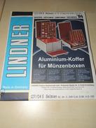 Lindner - Belgique Timbres 2004 - 17 Feuilles (-50% Sur Prix D'achat) - Albums & Reliures