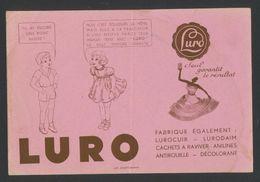 Buvard - Détachanr Ravivant - LURO - Buvards, Protège-cahiers Illustrés