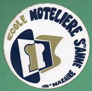 ECOLE HOTELIERE STE ANNE ST NAZAIRE /  AUTOCOLLANT - Autocollants