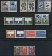 1957 Europa C.E.P.T., Annata Completa, Serie Complete Nuove (**) - Europa-CEPT