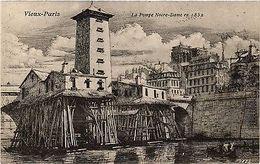 CPA PARIS 4e La Pompe Notre Dame En 1852 (445943) - Notre-Dame De Paris
